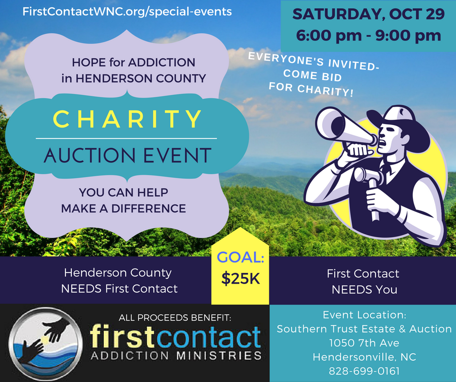 Hope for Henderson County Charity Auction Event
