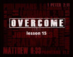 Overcome Bible Study for Addiction Recovery by Joshua Staton